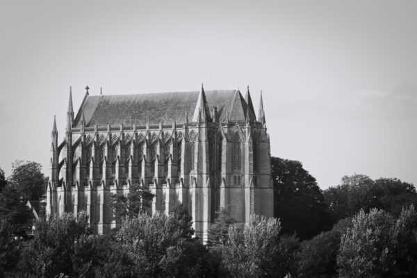 Lancing College in Black & White